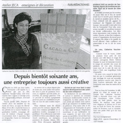Le carougeois - 2007