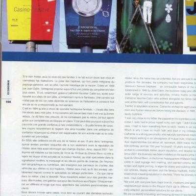 Côte magasine - 2009
